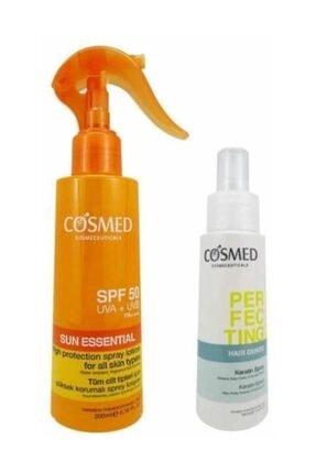 COSMED Sun Essential SPF50 Spray Lotion 200 ml Set 8699292992661