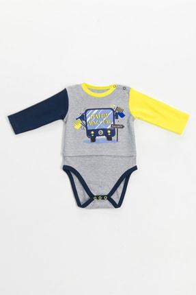 Fenerbahçe Lisanslı Unisex Bebek Uzun Kollu Body Grimelanj