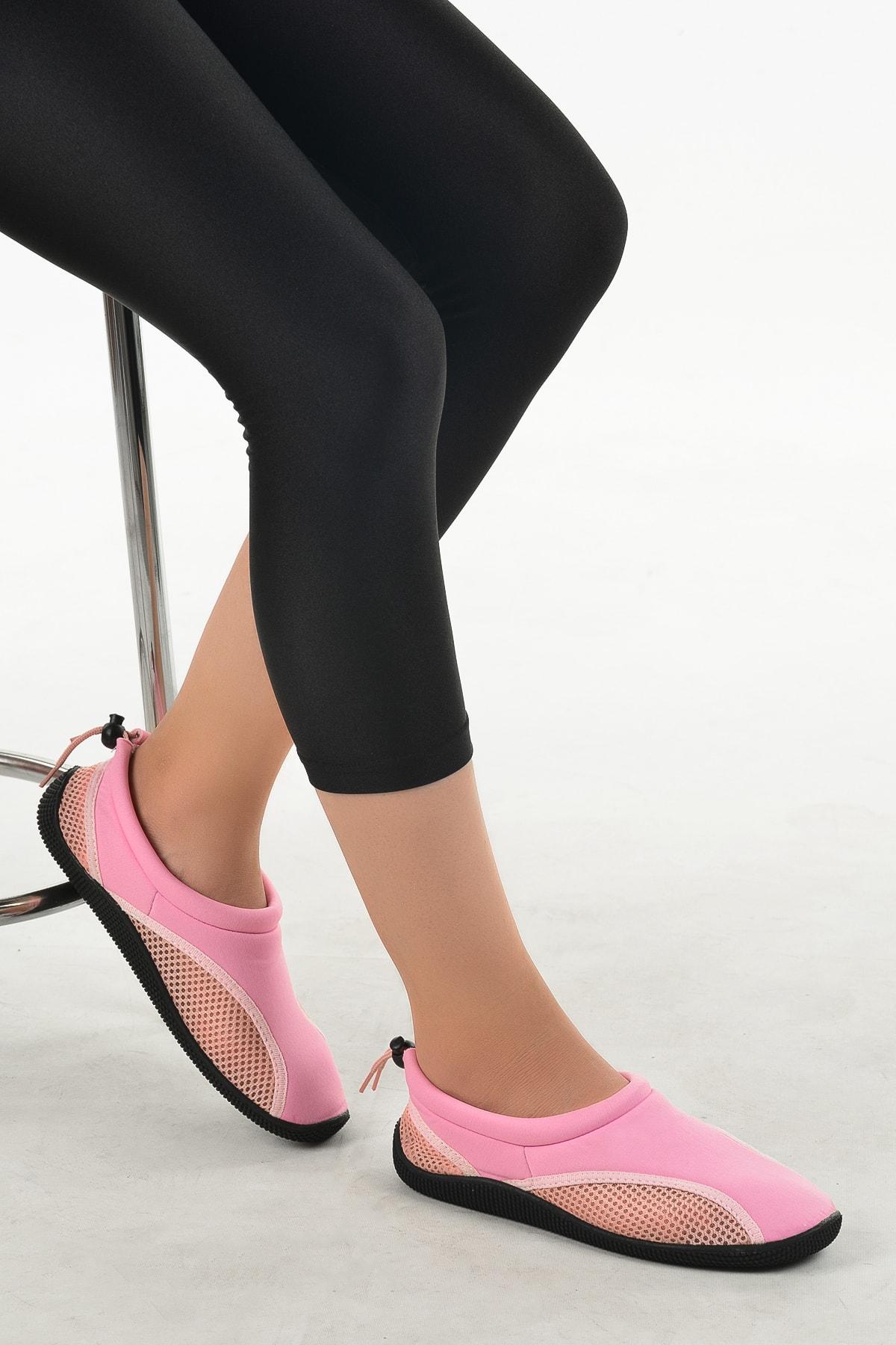 Ayakland Kadın Pembe Deniz Ayakkabısı 1