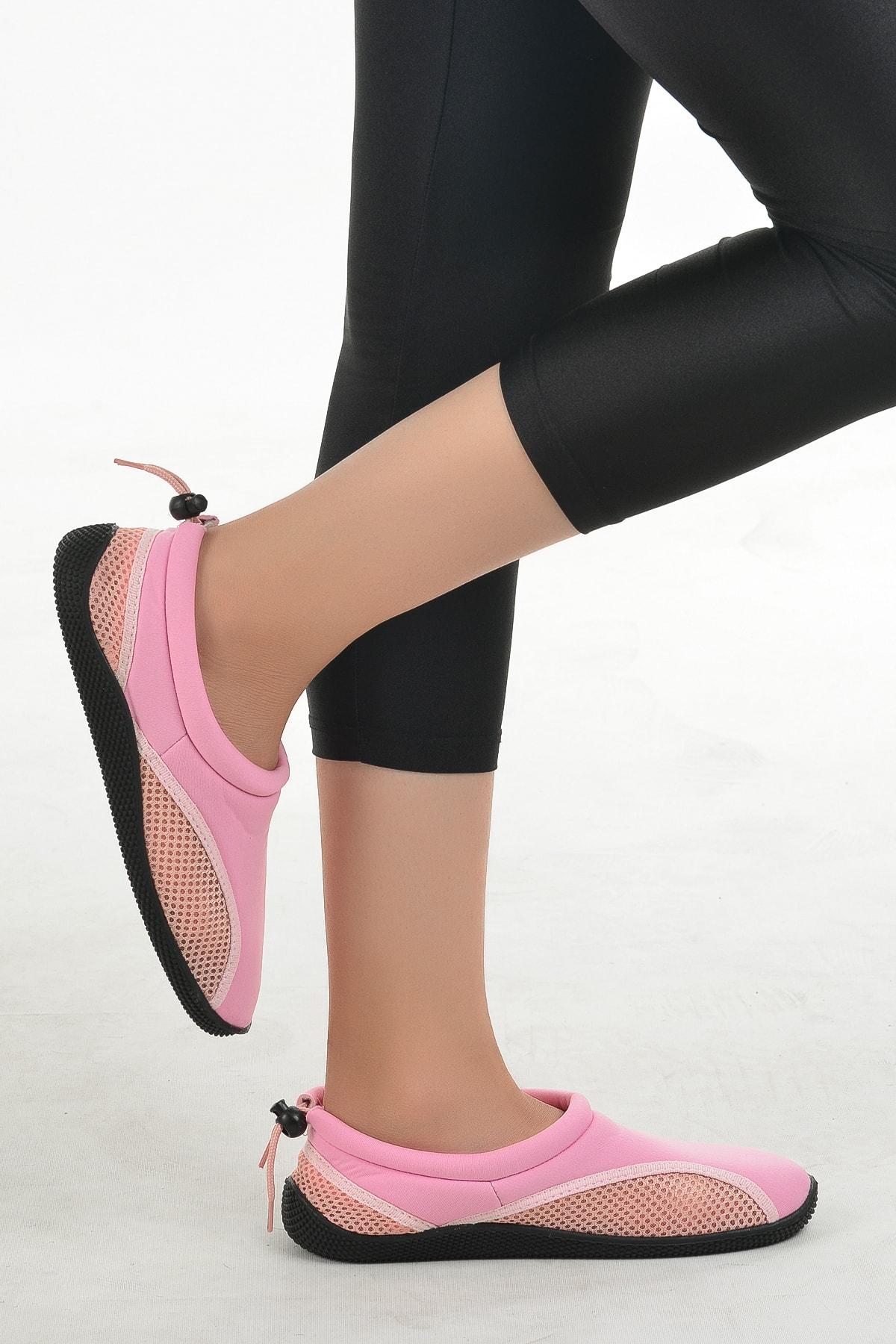 Ayakland Kadın Pembe Deniz Ayakkabısı 2
