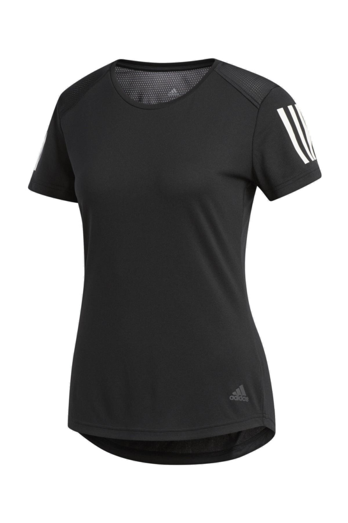 adidas OWN THE RUN TEE Siyah Kadın T-Shirt 101117560 2