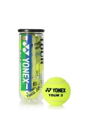 YONEX Tour 3 Adet Tenis Topu