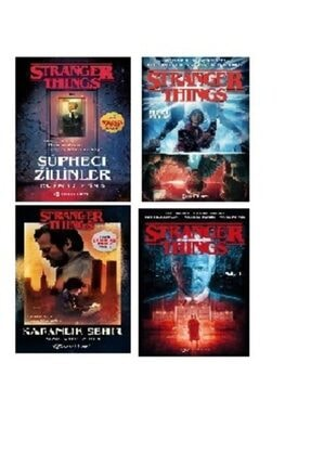 Epsilon Yayınları Stranger Things Set (4 Kitap)