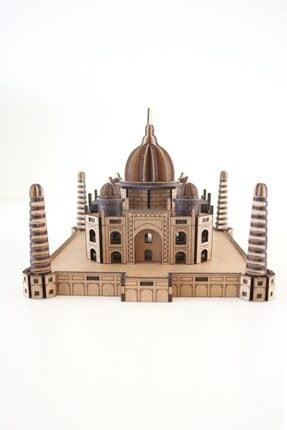 3D SERGİ 3d Ahşap Puzzle Taj Mahal 180 Parça