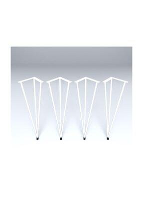 Kenzlife Larose Masa Ayağı 4'lü Bedi Byz 073 cm Metal Ayak Firkete