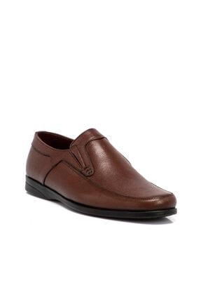 Tergan Erkek  Kahverengi  Deri Ayakkabı 54455H57