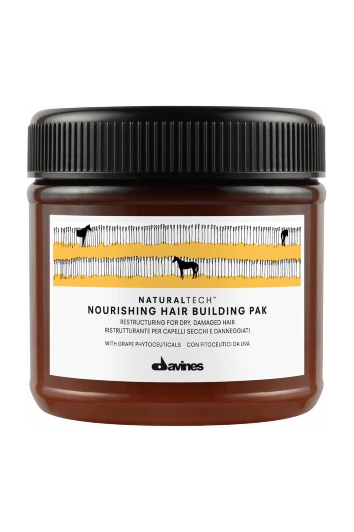 Davines Nourishing Hair Pak Yıpranmış Kuru Saç Maskesi 250 ml 1