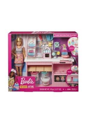 Barbie 'nin Pasta Dukkanı Oyun Seti Gfp59