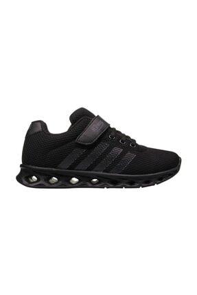 MP Çocuk Unisex  Sıyah Cırt Cırtlı   Spor  Ayakkabı
