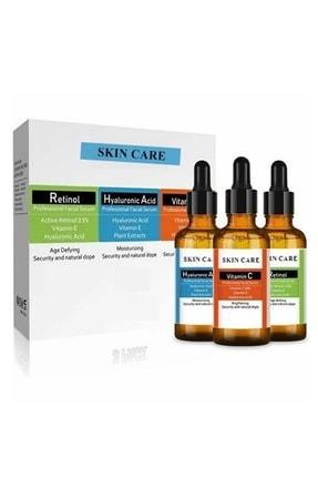 Skincare C Vitamini +retinol +hyaluronik Asit