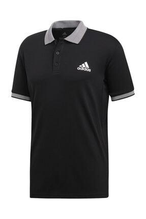 adidas Erkek Siyah Club Solid Polo  Tişört