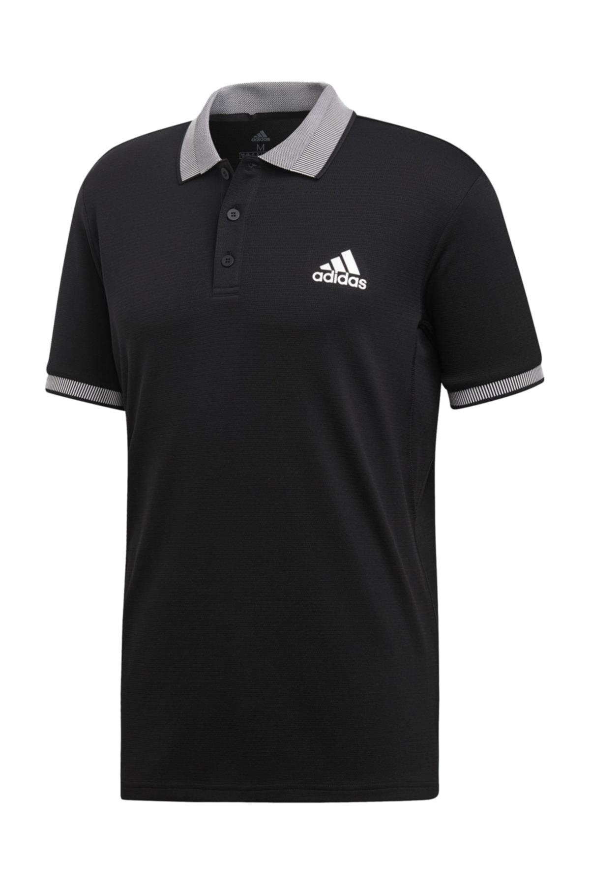 adidas Erkek Siyah Club Solid Polo  Tişört 1