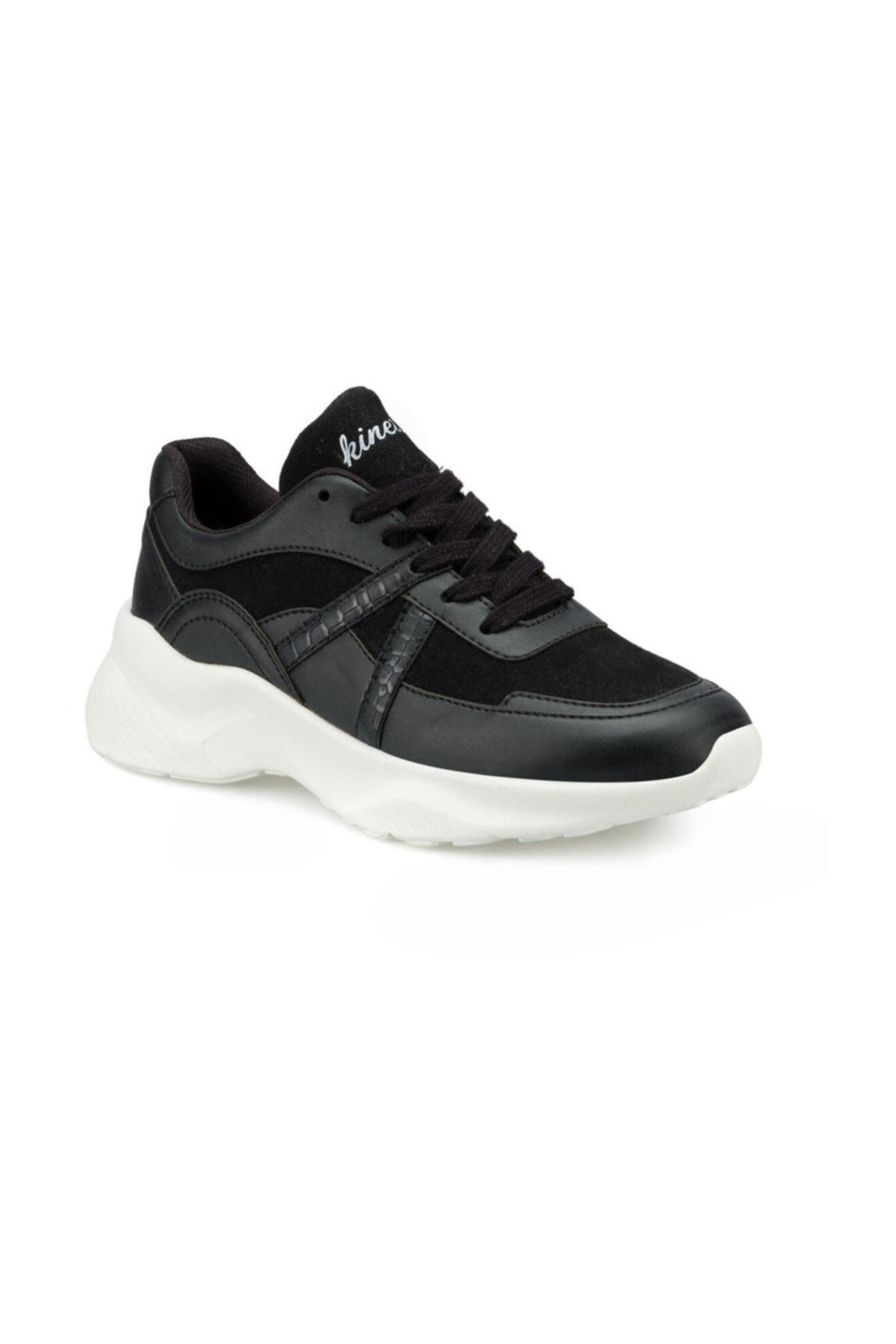 Kinetix AYEW Siyah Kadın Sneaker Ayakkabı 100495617 1
