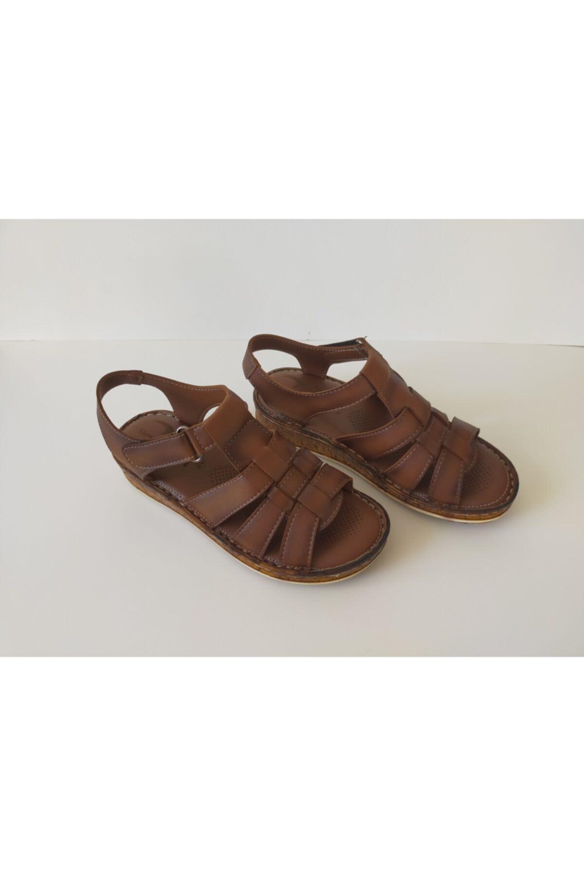 İpekçe  Kadın Ortopedik Sandalet 1