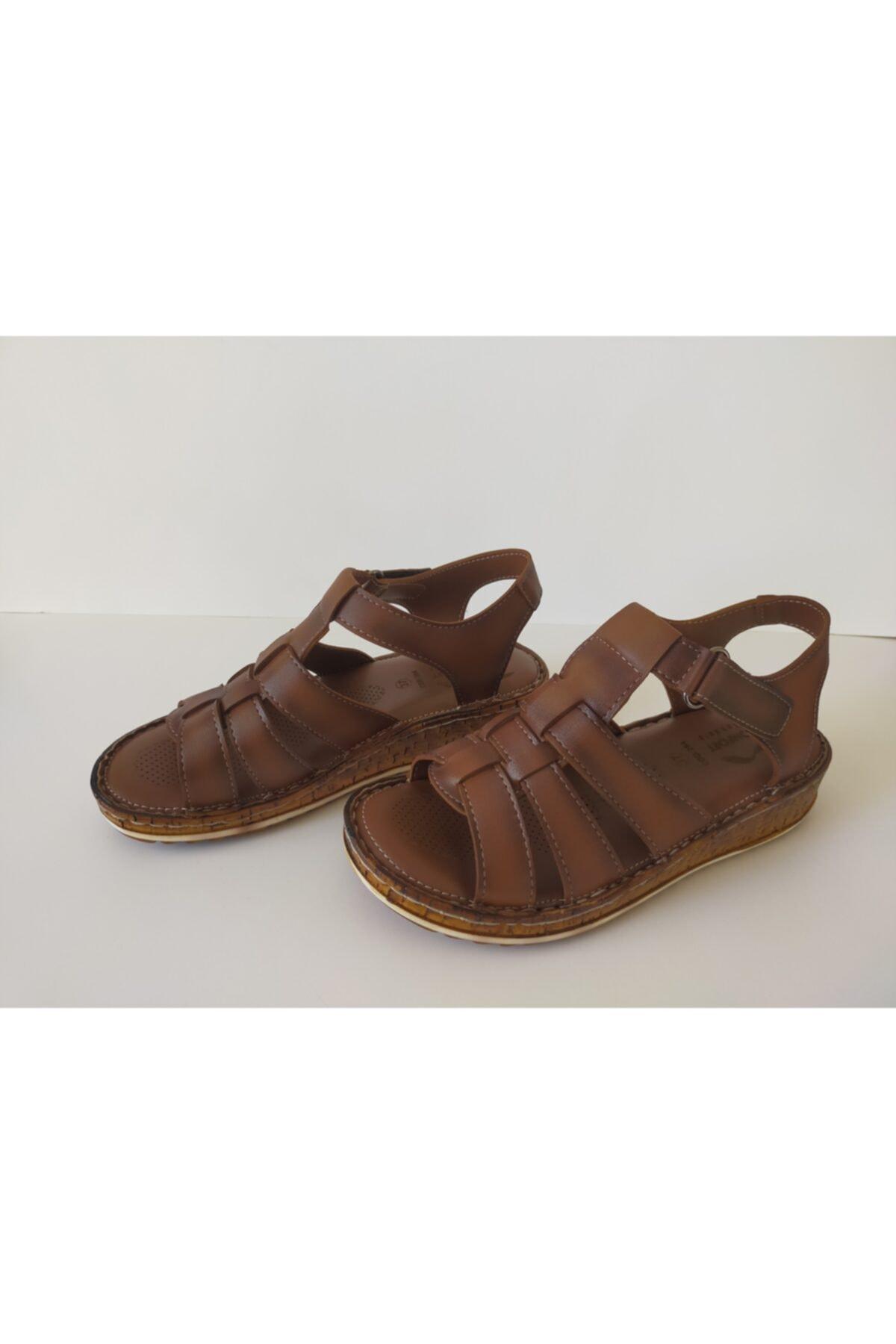 İpekçe  Kadın Ortopedik Sandalet 2