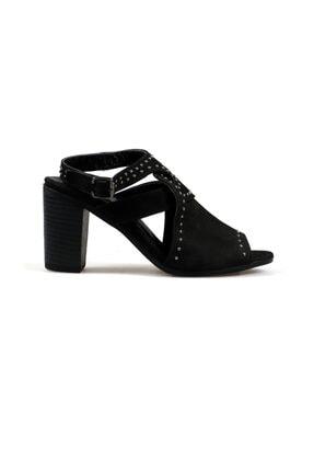 Hammer Jack Kadın Siyah Nubuk Ayakkabı 538 111-z