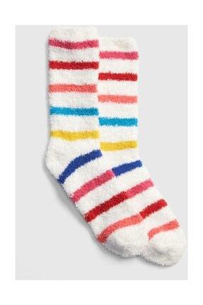 GAP Kadın Renkli Yumuşak Dokulu Çorap
