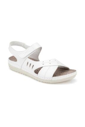 Polaris 91.150769.z Beyaz Kadın Sandalet 100375175