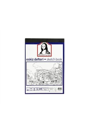 Südor Mona Lisa A5 Aydınger Eskiz Defteri 50 Yaprak 120 Gram Bn05-5