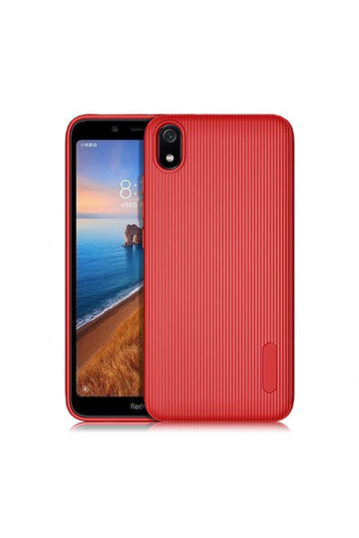 Pickcase Xiaomi Redmi 7a Tio Silikon Kılıf Kırmızı 1