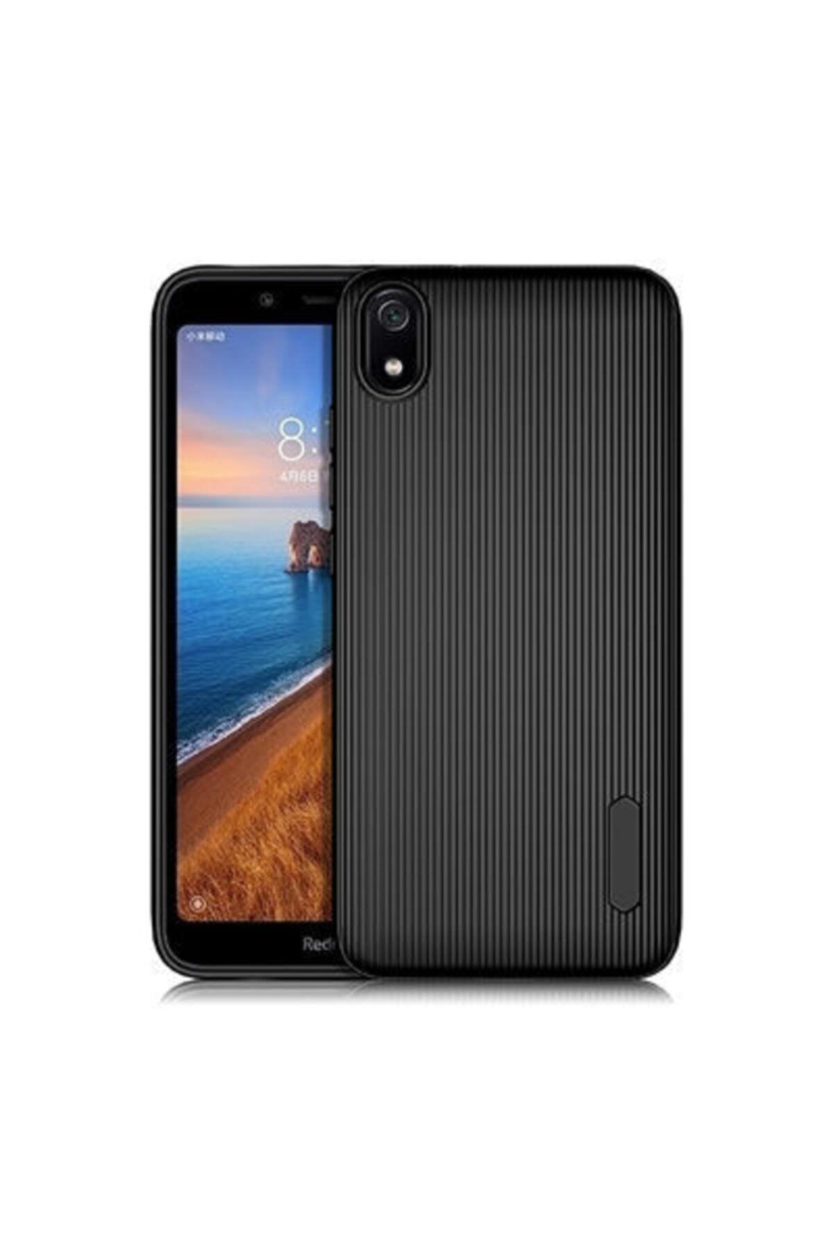 Pickcase Xiaomi Redmi 7a Tio Silikon Kılıf Siyah 1
