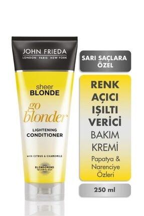 John Frieda Sarı Saçlara Özel Güneş Işıltısı Veren Yoğun Bakım Kremi 250ml