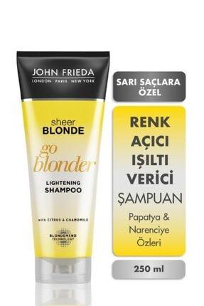 John Frieda Sarı Saçlara Güneş Işıltısı Veren Şampuan 250 Ml