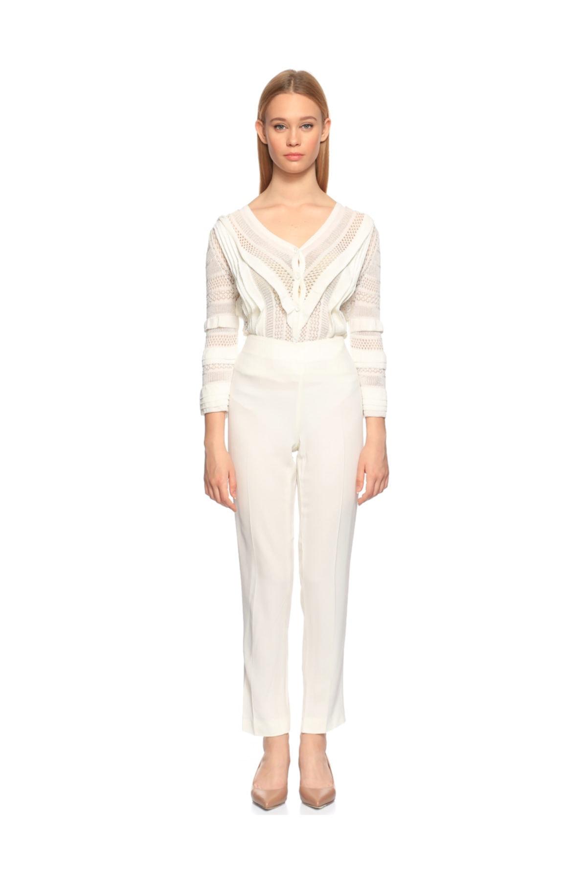 PHILOSOPHY FERRETTI Kadın Beyaz Pantolon 2