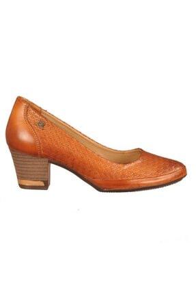 Venüs Kadın Taba Topuklu Ayakkabı