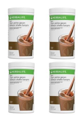 Herbalife Shake Ekonomik 4'lü Paket - Çikolata Aromalı 2200gr