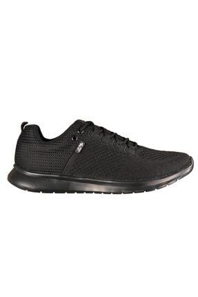 MP Erkek Siyah Bağcılıklı Sneaker Ayakkabı