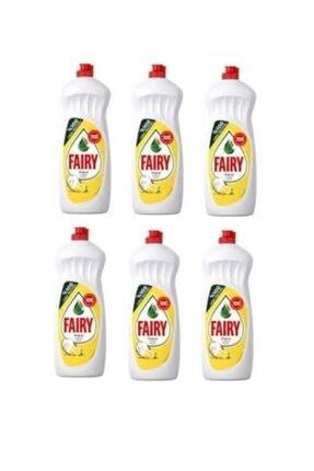 Fairy Limon Kokulu Sıvı Bulaşık Deterjanı 6 X 650 Ml