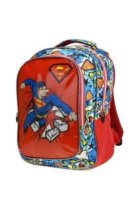 Trendix Superman Punch Ilkokul Çantası Iki Gözlü