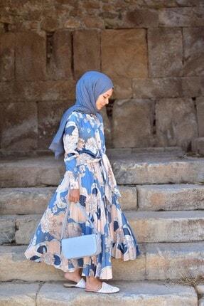Loreen Kadın Mavi Etekli Takım
