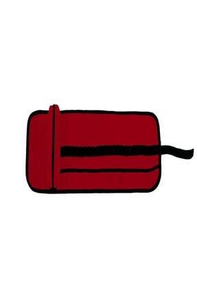 Burak Kalemlik (rulo Kalem Çantası) Kırmızı