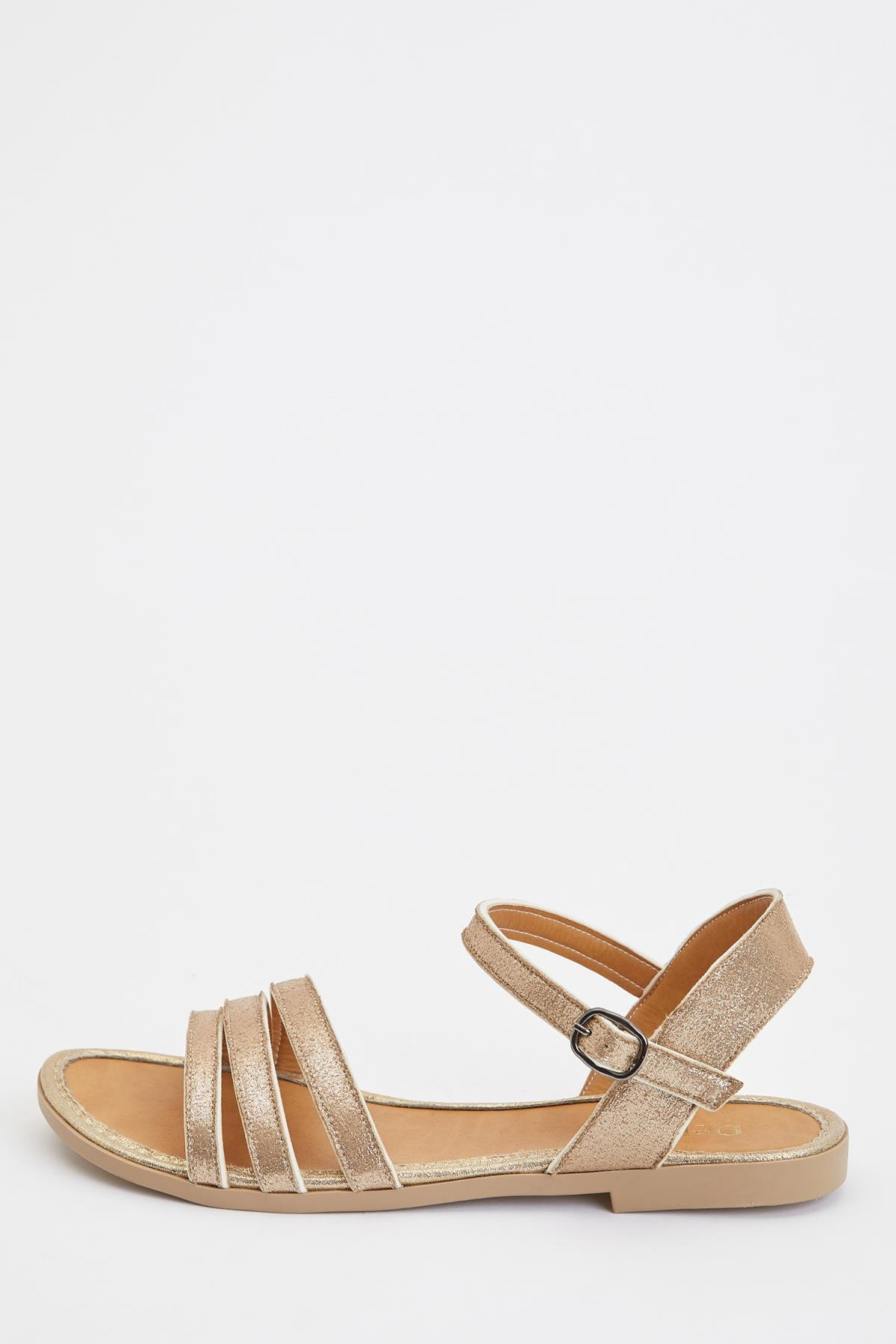 DeFacto Kadın Altın Fashion Sandalet S5927AZ20SM