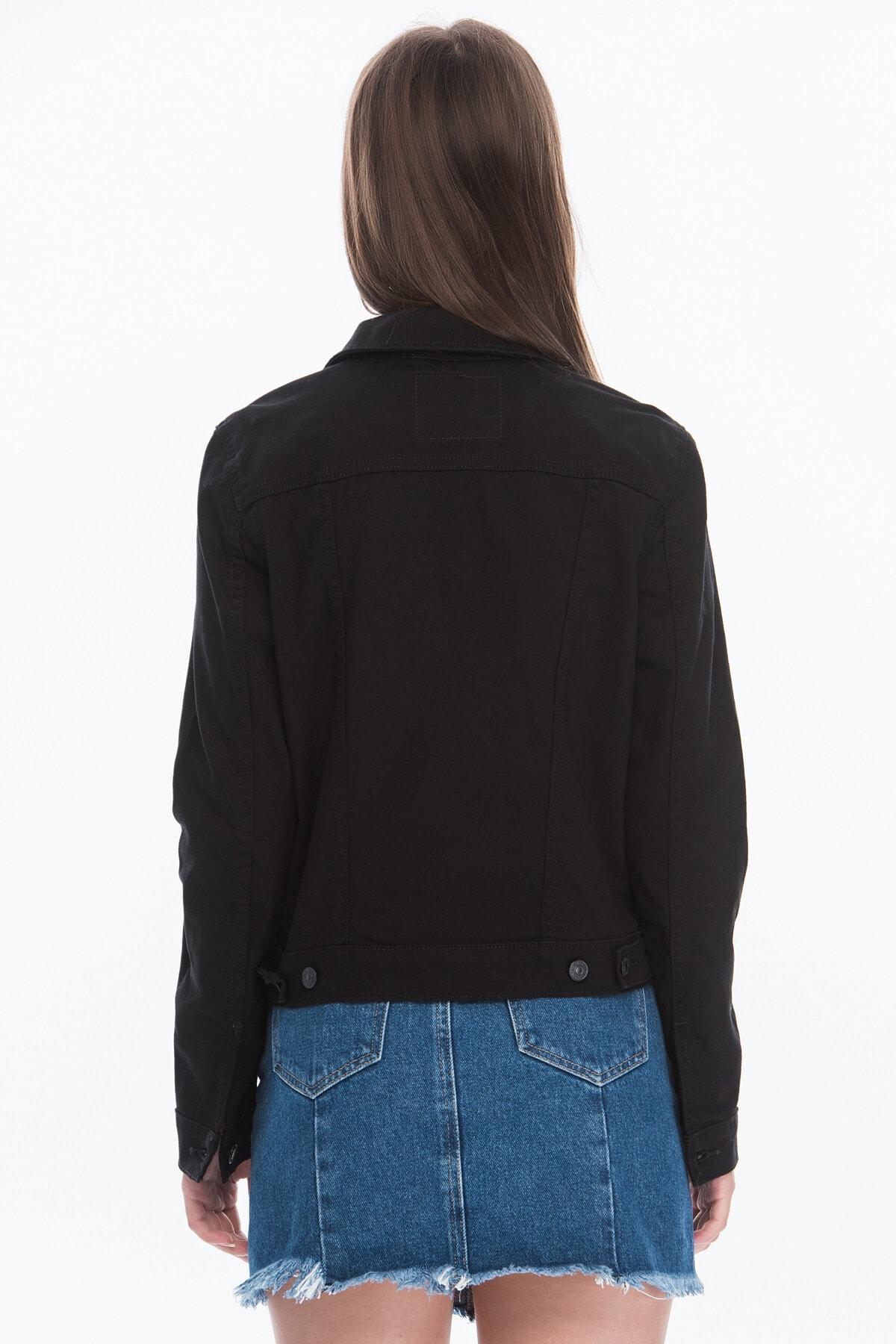 Levi's Kadın Siyah Düğmeli Ceket 29945-0038 2