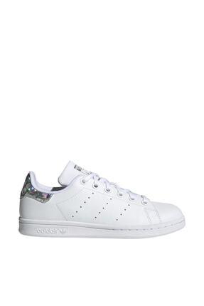 adidas Kadın Beyaz Spor Ayakkabı - Stan Smith - EE8483
