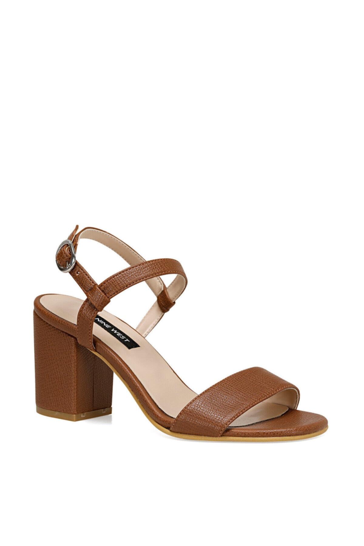 Nine West Kadın Taba Ceva Sandalet 2