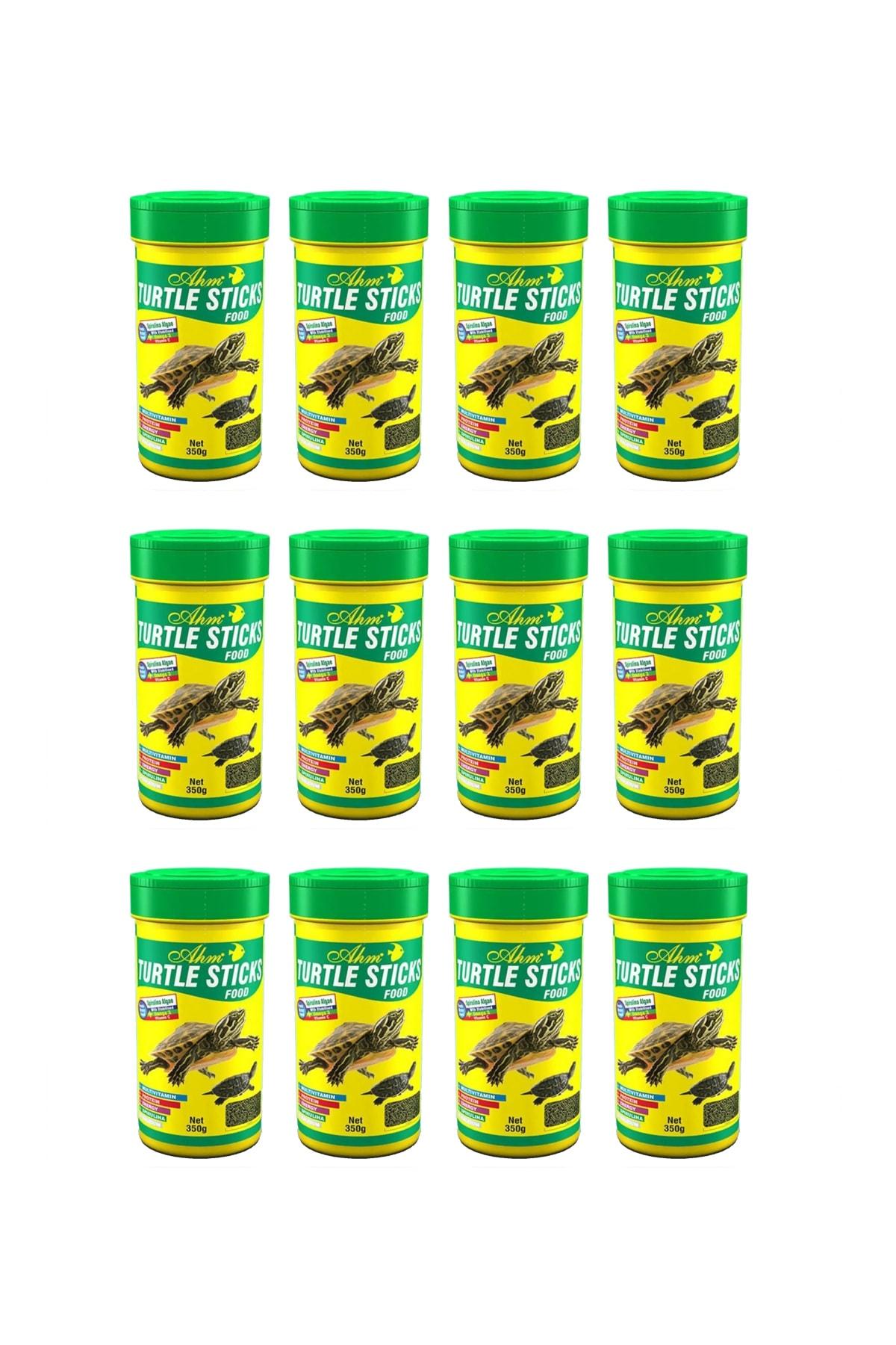 Ahm Turtle Sticks Food 100 Ml X 12 Adet - Kaplumbağa Yemi 1