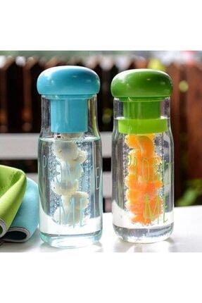VİP AHMET My Bottle Detox 700ml Borosilikat Cam Matara Filtreli Detoks Şişe