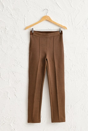 LC Waikiki Kadın Açık Kahverengi Pantolon 0W8751Z8