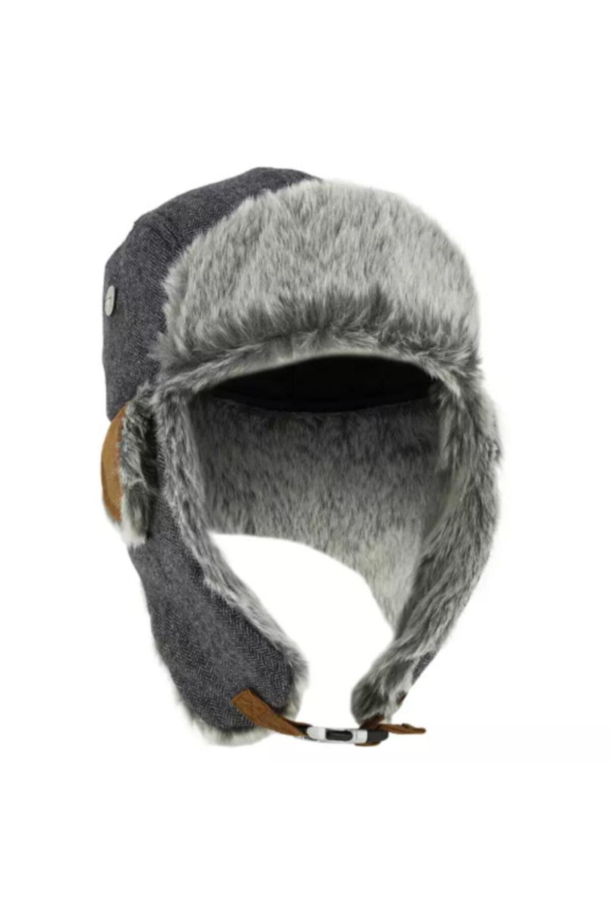 Meridyen Dukkan Kürklü Şapka Kışlık Kürklü Bere Isı Yalıtımlı 1