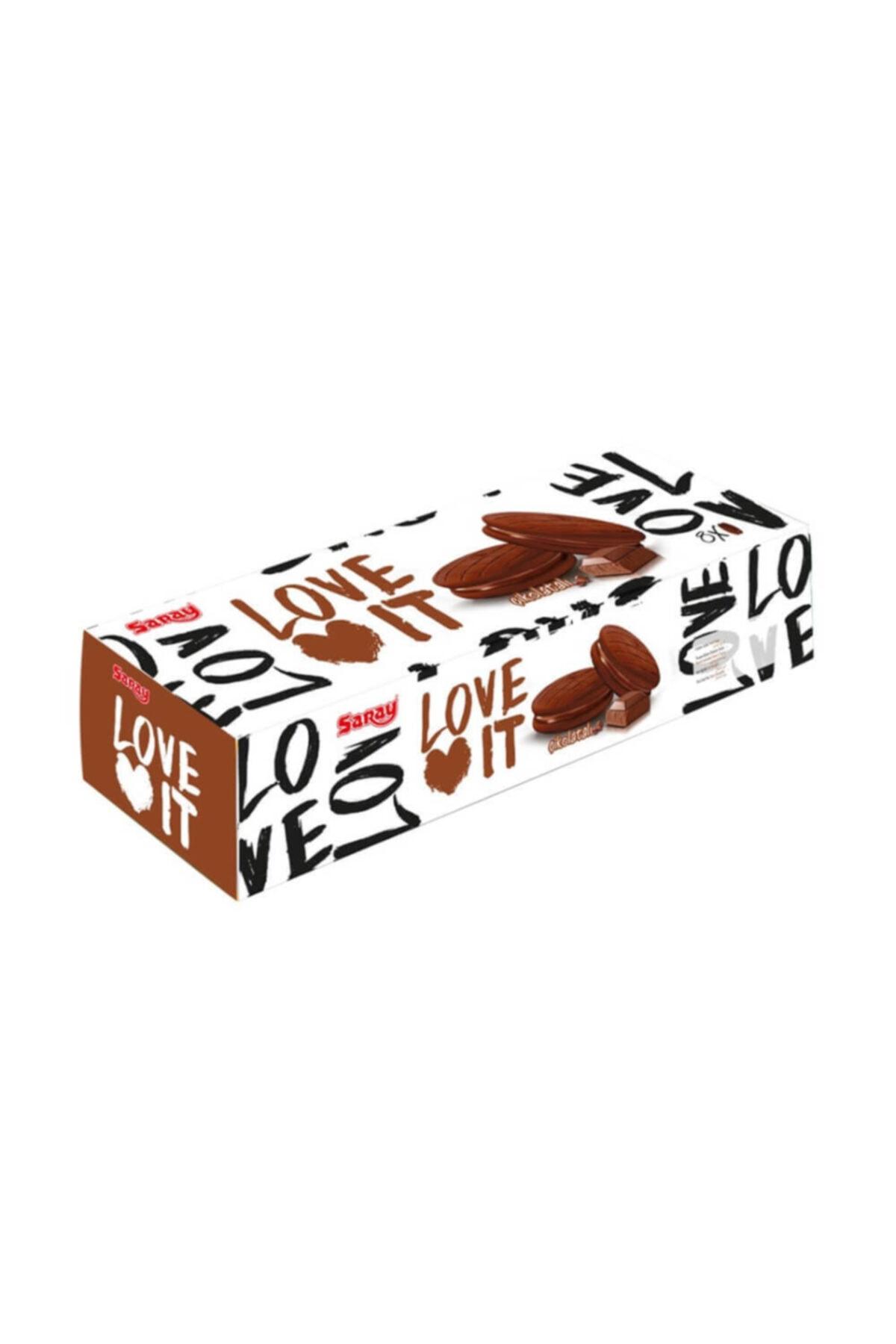Saray Loveit Çikolatalı Kremalı Bisküvi 88 Gr 1