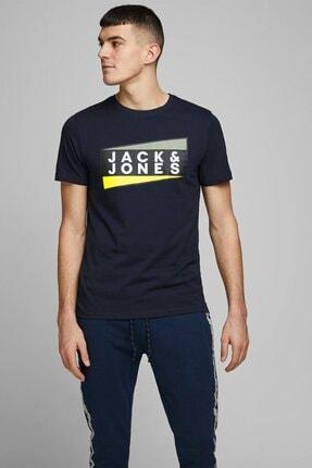 Jack & Jones Erkek Siyah Tshırt