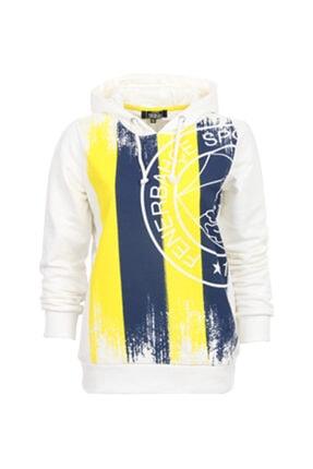 Fenerbahçe Kadın Beyaz Sweatshirt