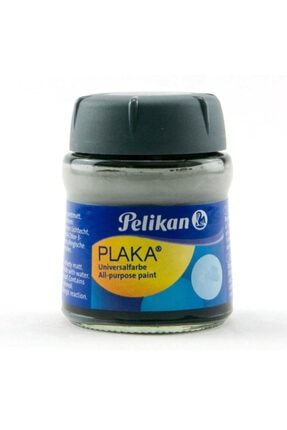 Pelikan Plaka Boyası Taş, Ahşap, Cam, Metal, Karton 50 Ml No:72 Grey (6 Lı Paket) Pl101618pkgr