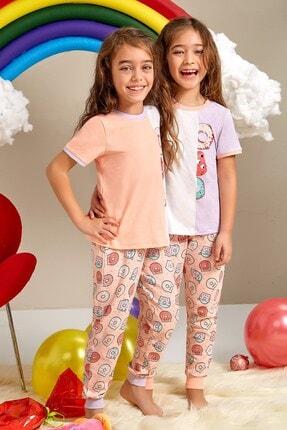Lohusa Sepeti Kız Çocuk Donut Pijama Takımı 0054