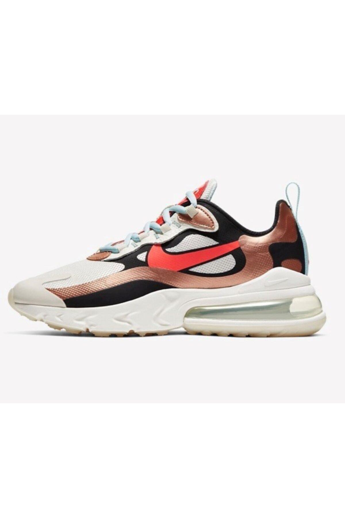 Nike Air Max 270 React Kadın Spor Ayakkabı Ct3428-100 1