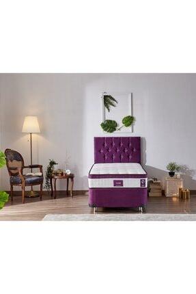 Niron Yatak Niron Violet 100x200 Tek Kişilik Gizli Pedli Yatak Full Ortopedik Yaylı Yatak